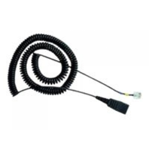 Шнур Jabra GN 8000 Coiled Cord w-Protect